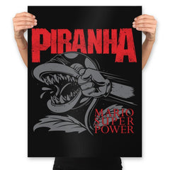 Display of Super Power - Prints - Posters - RIPT Apparel