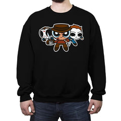 The Horrorpuff Boys - Crew Neck Sweatshirt - Crew Neck Sweatshirt - RIPT Apparel