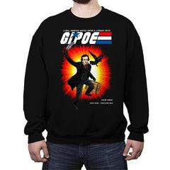 G.I. POE - Crew Neck Sweatshirt - Crew Neck Sweatshirt - RIPT Apparel