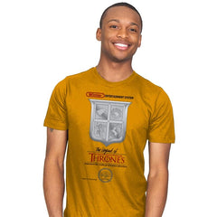 Legend of Thrones - Mens - T-Shirts - RIPT Apparel