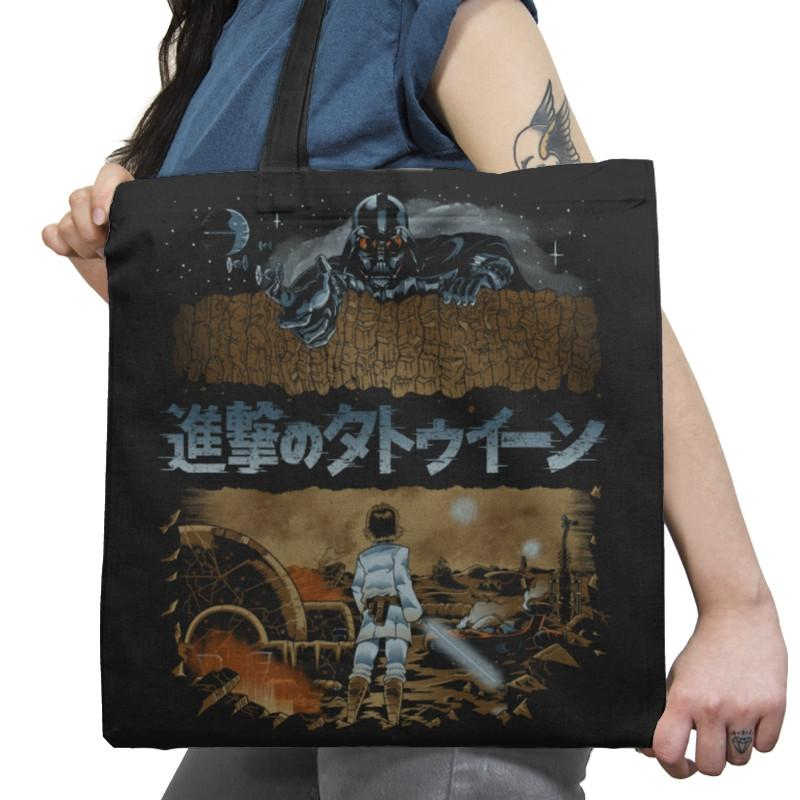 Attack on Tatooine Exclusive - Tote Bag - Tote Bag - RIPT Apparel