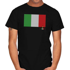 Italy Brick Flag Exclusive - Mens - T-Shirts - RIPT Apparel