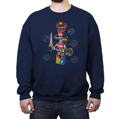 Legazord - Crew Neck Sweatshirt - Crew Neck Sweatshirt - RIPT Apparel