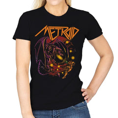 Space Dragon - Anytime - Womens - T-Shirts - RIPT Apparel