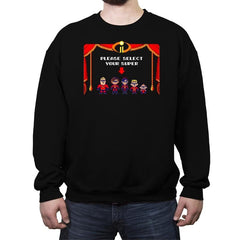 Super Incredible Family II - Crew Neck Sweatshirt - Crew Neck Sweatshirt - RIPT Apparel
