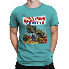 Laser Eyes Comics - Mens Premium - T-Shirts - RIPT Apparel