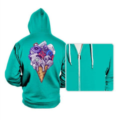 Ice Cream Conesoles - Hoodies - Hoodies - RIPT Apparel