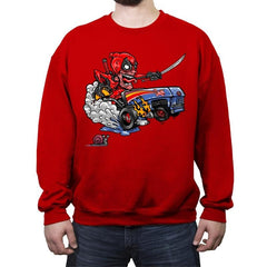 Fink-Pool - Crew Neck Sweatshirt - Crew Neck Sweatshirt - RIPT Apparel