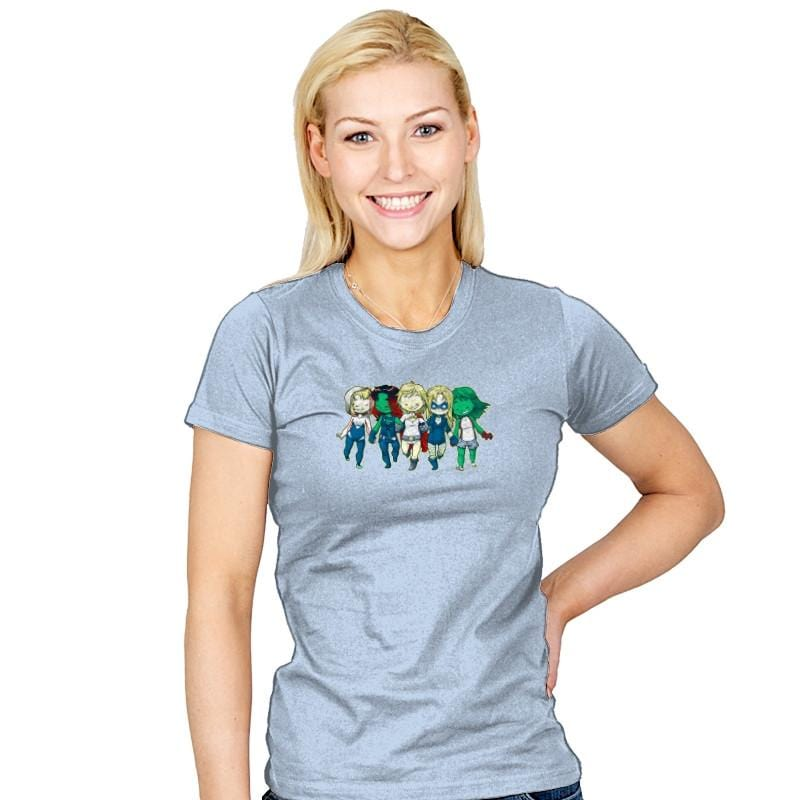 Heroic BFF's - Miniature Mayhem - Womens - T-Shirts - RIPT Apparel