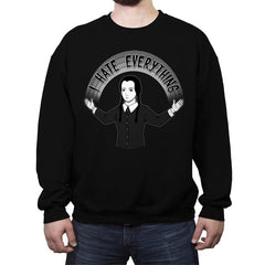 As long as we Hate Everything - Crew Neck Sweatshirt - Crew Neck Sweatshirt - RIPT Apparel