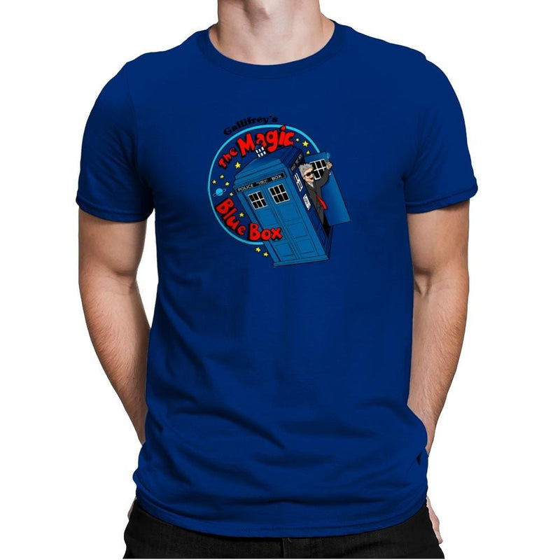 Magic Bluebox Exclusive - Mens Premium - T-Shirts - RIPT Apparel