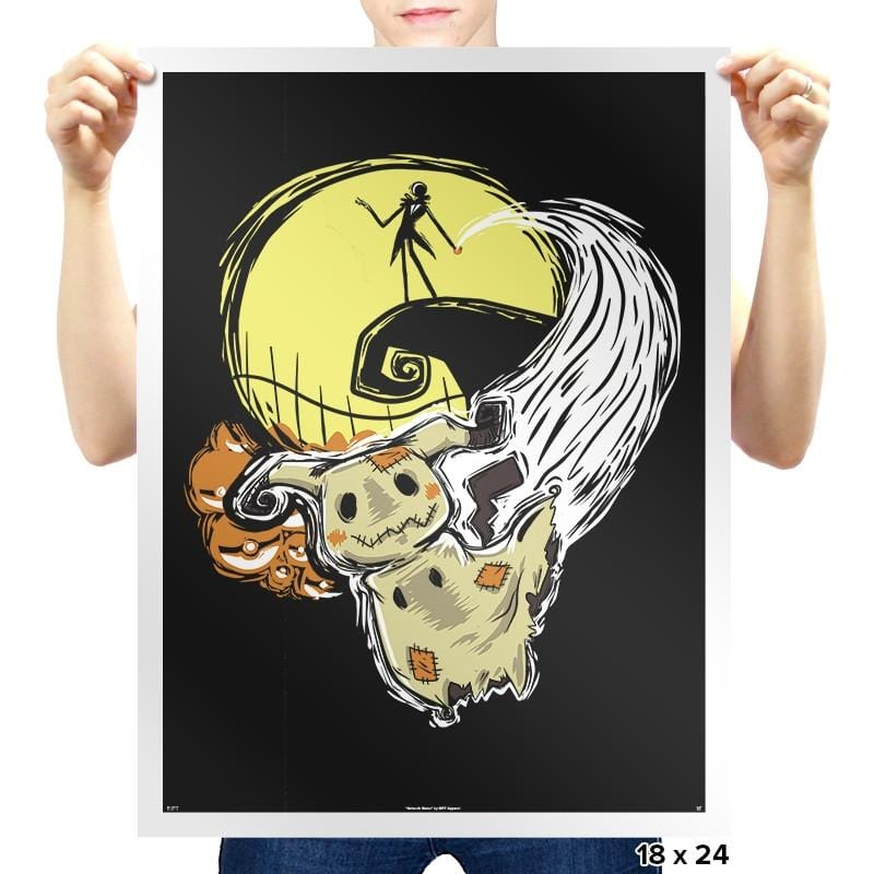 Nightmare Before Mimikyu Exclusive - Prints - Posters - RIPT Apparel