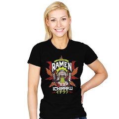 Ninja Ramen - Womens - T-Shirts - RIPT Apparel