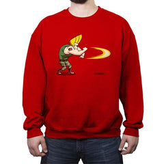 Sonic Bravo! - Crew Neck Sweatshirt - Crew Neck Sweatshirt - RIPT Apparel