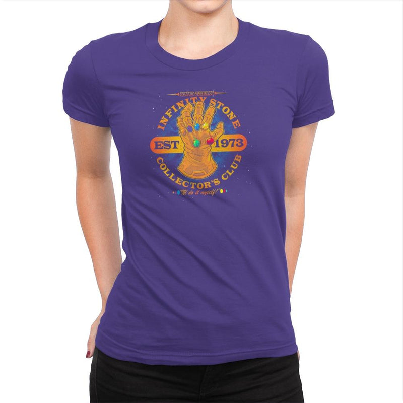 Stone Collector's Club Exclusive - Womens Premium - T-Shirts - RIPT Apparel