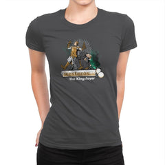 The Kingslayer Exclusive - Womens Premium - T-Shirts - RIPT Apparel