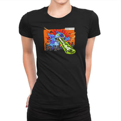 Kaiju-626 Exclusive - Womens Premium - T-Shirts - RIPT Apparel