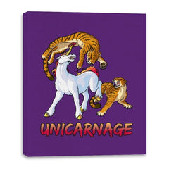Unicarnage - Canvas Wraps - Canvas Wraps - RIPT Apparel
