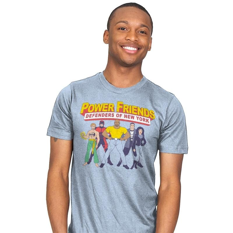 The Power Friends - Mens - T-Shirts - RIPT Apparel