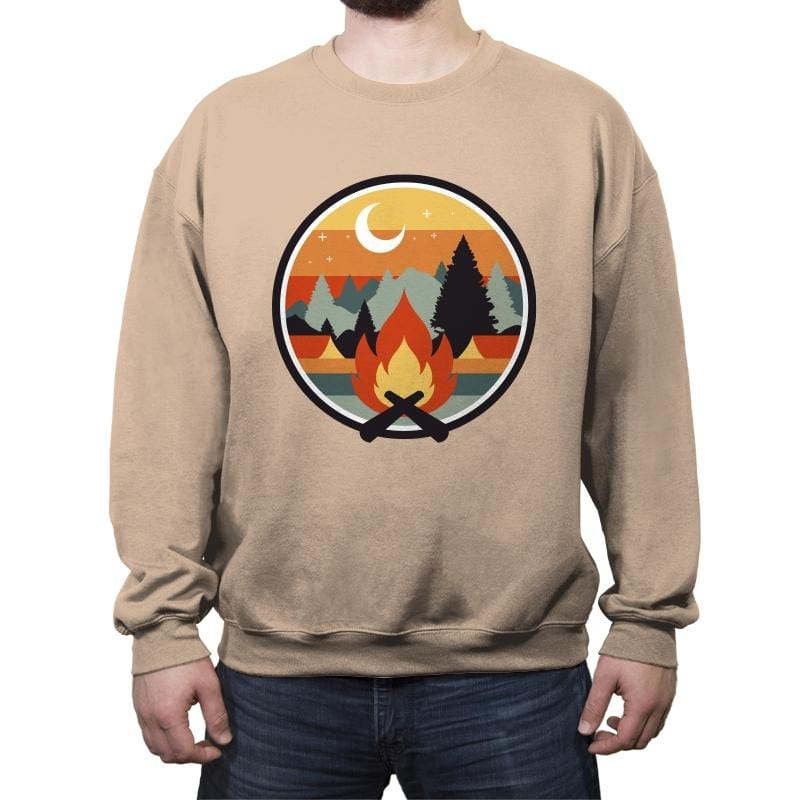 Great Outdoors - Crew Neck Sweatshirt - Crew Neck Sweatshirt - RIPT Apparel