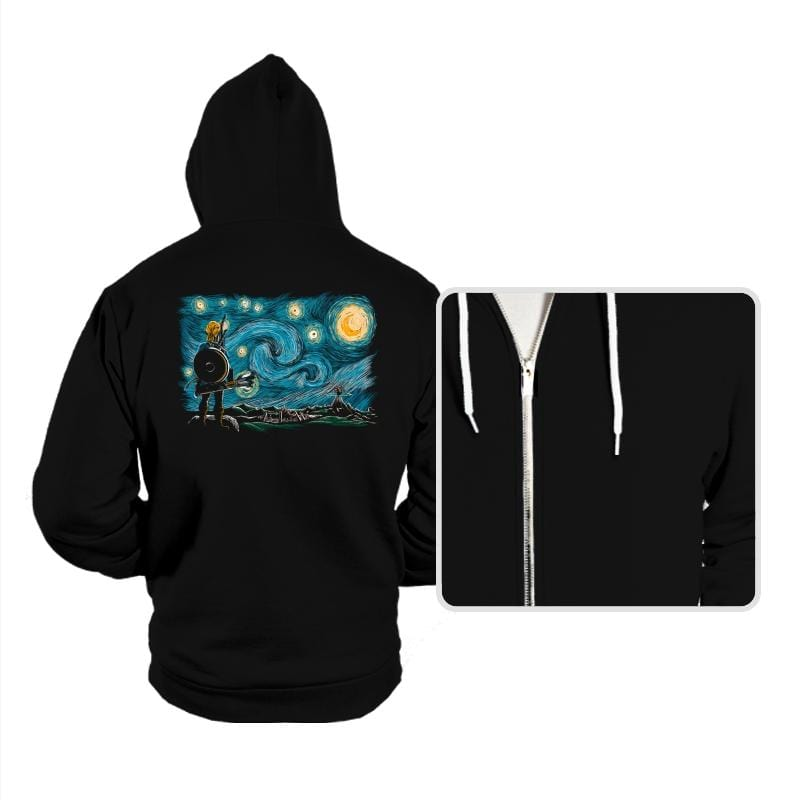 Starry Breath - Hoodies - Hoodies - RIPT Apparel