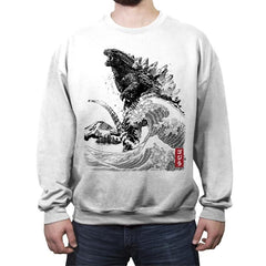 The Rise of Gojira - Crew Neck Sweatshirt - Crew Neck Sweatshirt - RIPT Apparel
