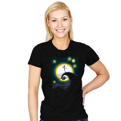 Starry Nightmare - Womens - T-Shirts - RIPT Apparel