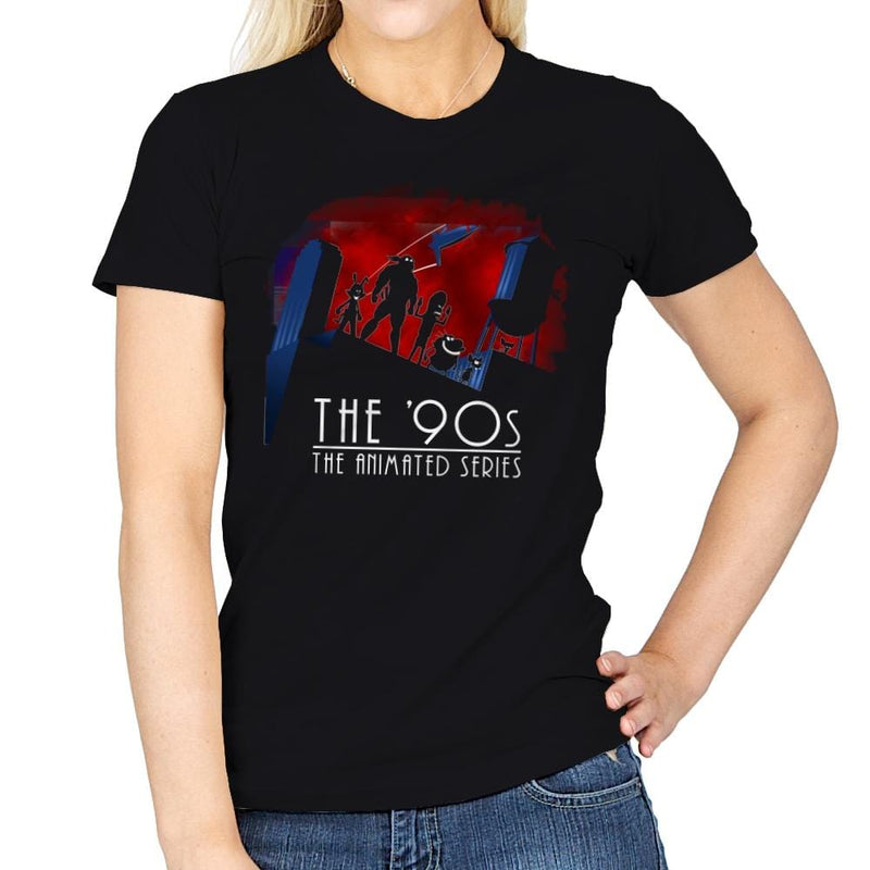 The Animated 90s - Womens - T-Shirts - RIPT Apparel