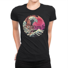 Rad Tiger Wave - Womens Premium - T-Shirts - RIPT Apparel