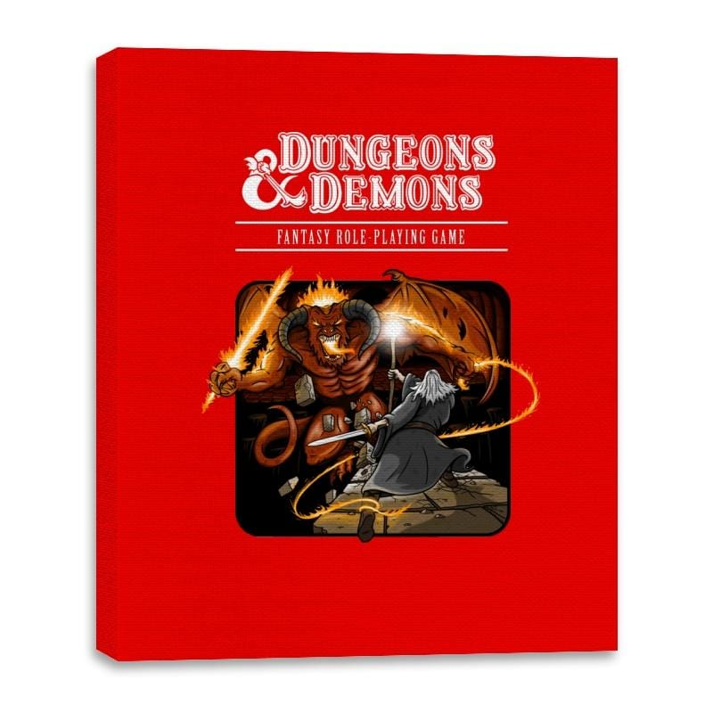 Dungeons & Dwarves - Canvas Wraps - Canvas Wraps - RIPT Apparel