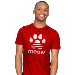 Meow Classic - Mens - T-Shirts - RIPT Apparel