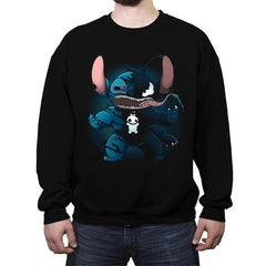 Symbiotic Experiment - Crew Neck Sweatshirt - Crew Neck Sweatshirt - RIPT Apparel