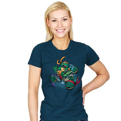 Super Mikey Kart - Womens - T-Shirts - RIPT Apparel