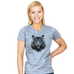 Tiger Gaze - Back to Nature - Womens - T-Shirts - RIPT Apparel