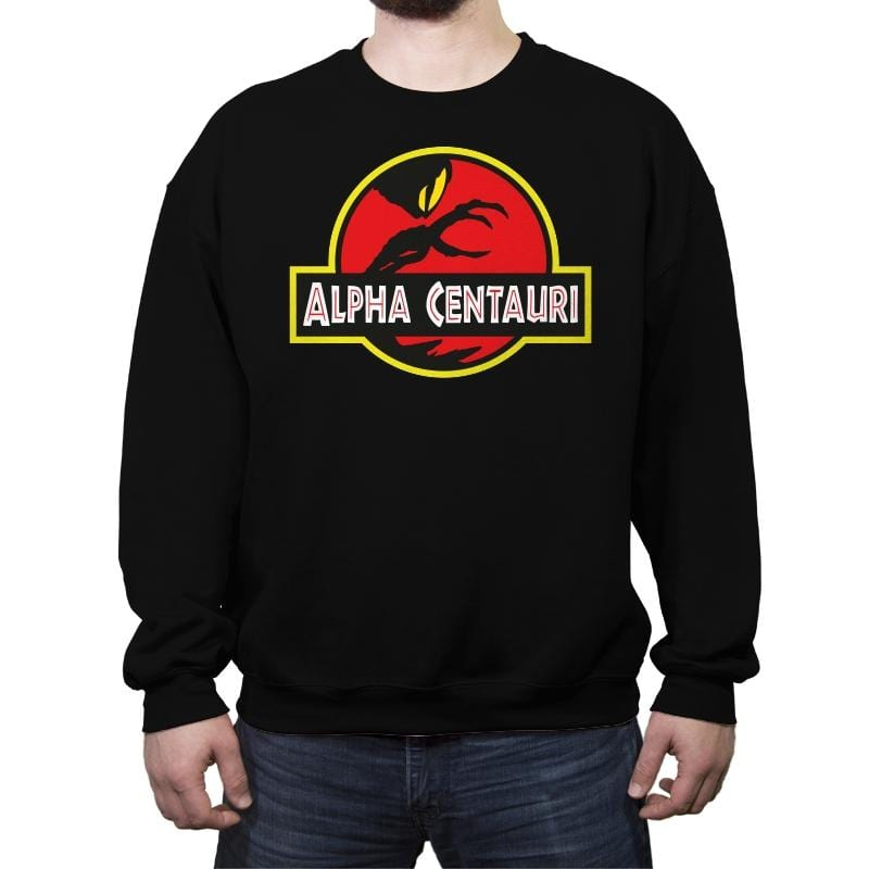 Alpha Centauri - Crew Neck Sweatshirt - Crew Neck Sweatshirt - RIPT Apparel