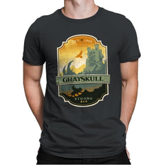 Grayskull Strong Ale - Mens Premium - T-Shirts - RIPT Apparel