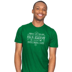 Ninja Academy Exclusive - Anime History Lesson - Mens - T-Shirts - RIPT Apparel