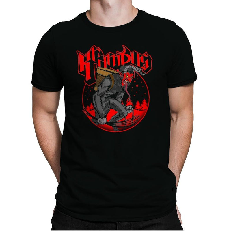 Papa Krampus - Mens Premium - T-Shirts - RIPT Apparel