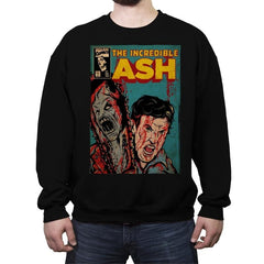 The Incredible Ash - Crew Neck Sweatshirt - Crew Neck Sweatshirt - RIPT Apparel