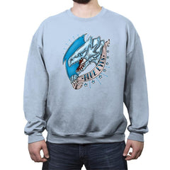 Blue Eyes - Crew Neck Sweatshirt - Crew Neck Sweatshirt - RIPT Apparel