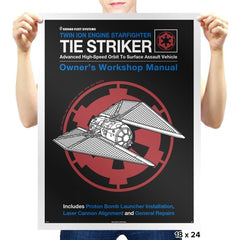 Striker Manual - Prints - Posters - RIPT Apparel