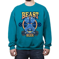 Beast Mode - Crew Neck Sweatshirt - Crew Neck Sweatshirt - RIPT Apparel