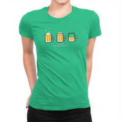 Start Drinking Exclusive - Womens Premium - T-Shirts - RIPT Apparel