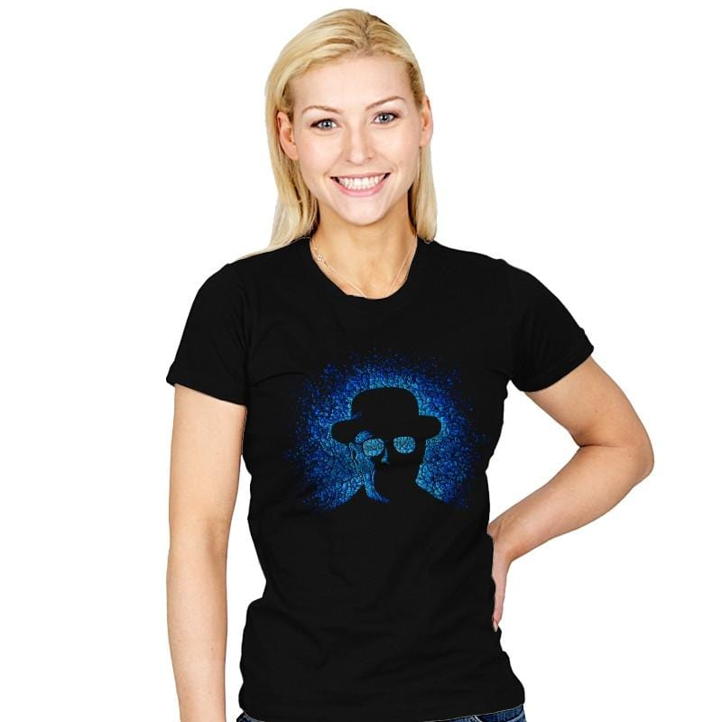 Baby Blue - Pop Impressionism - Womens - T-Shirts - RIPT Apparel