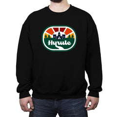 Retro Adventure Logo - Crew Neck Sweatshirt - Crew Neck Sweatshirt - RIPT Apparel