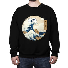 Cookiegana Wave - Crew Neck Sweatshirt - Crew Neck Sweatshirt - RIPT Apparel