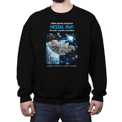 Kessel Run Video Game - Crew Neck Sweatshirt - Crew Neck Sweatshirt - RIPT Apparel