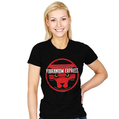 Vibranium Express - Womens - T-Shirts - RIPT Apparel
