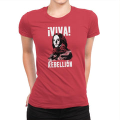 Viva La Rebellion Exclusive - Womens Premium - T-Shirts - RIPT Apparel