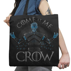 Come at me Crow Exclusive - Tote Bag - Tote Bag - RIPT Apparel